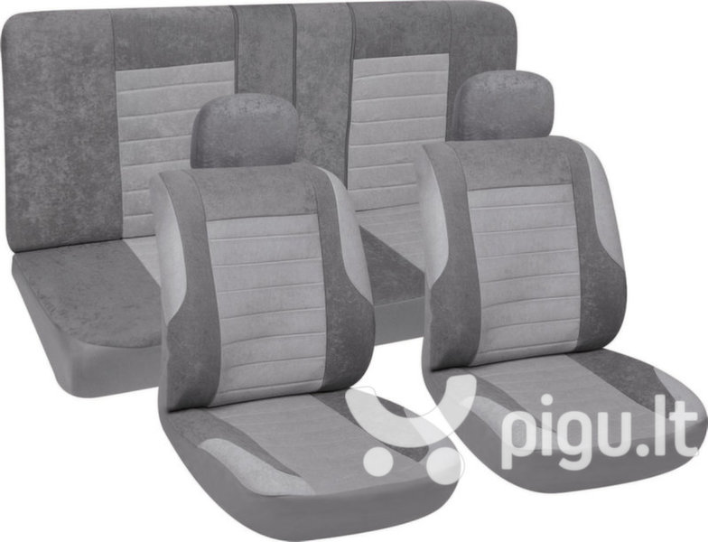 Sėdynių užvalkalai, pilka kaina ir informacija | Sėdynių užtiesalai, priedai | pigu.lt