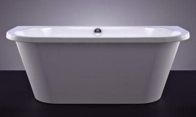Akmens masės vonia Vispool Onda, 175x75 stačiakampė balta kaina ir informacija | Vonios | pigu.lt