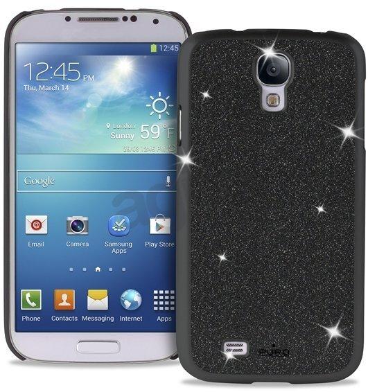 Apsauginis dėklas Puro SGS4GLITTERBLK SAMSUNG S4 GLITTER COV BLACK, skirtas Samsung Galaxy S4 kaina ir informacija | Telefono dėklai | pigu.lt