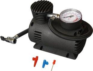 12V avarinis oro kompresorius - pompa Alburnus ACC204 kaina ir informacija | Automobilių 12V el. priedai | pigu.lt