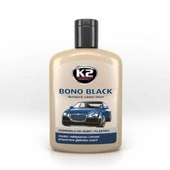 Plastmasinių detalių juodiklis BONO BLACK, 200 ml kaina ir informacija | Automobilinė chemija | pigu.lt