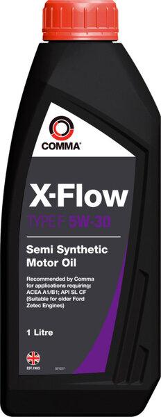 ALYVA ''COMMA'' X-FLOW TYPE F 5W30, 1L kaina ir informacija | Variklinės alyvos | pigu.lt
