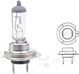 Lemputės H7 kaina ir informacija | Auto lemрutės | pigu.lt