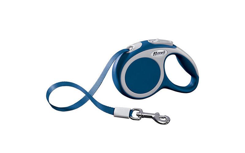 Pavadėlis Flexi Vario XS, 3m, mėlynas kaina ir informacija | Pavadėliai, antkakliai, petnešos šunims | pigu.lt