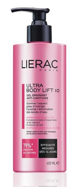 Stangrinamasis kūno koncentratas Lierac Ultra Body Lift 400 ml kaina ir informacija | Anticeliulitinės, stangrinamosios priemonės | pigu.lt