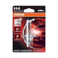 Automobilinė lemputė Osram Night Breaker Unlimited H4, 1 vnt.