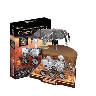 "3D dėlionė CubicFun Marsaeigis ""Curiosity"", 166 detalės kaina ir informacija | Dėlionės (puzzle) | pigu.lt"