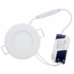 LEDlife LED panelė, 6W (neutrali balta)