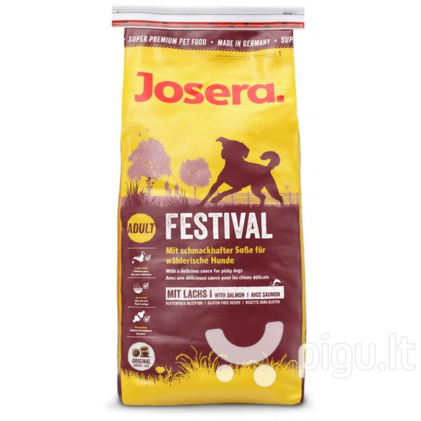 Josera Festival, 1,5 kg kaina ir informacija | Sausas maistas šunims | pigu.lt