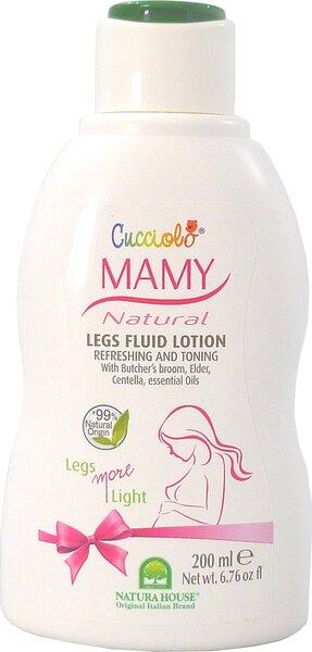 Gaivinamasis, tonizuojamasis losjonas kojoms besilaukiančioms mamoms Natura House Cucciolo 200 ml kaina ir informacija | Kosmetika vaikams ir mamoms | pigu.lt