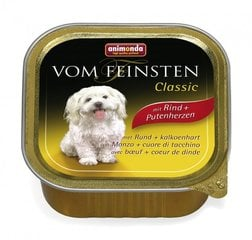 Animonda Vom Feinsten su jautiena ir kalakutų širdimis, 150 g