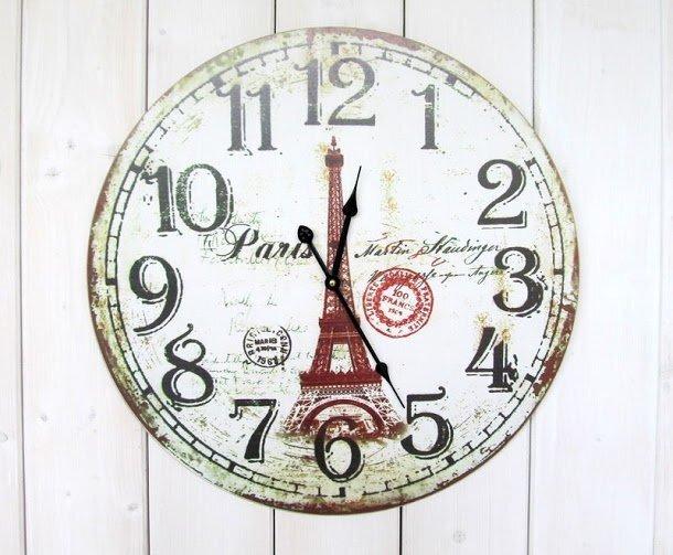 Sieninis laikrodis Paris kaina ir informacija | Laikrodžiai | pigu.lt