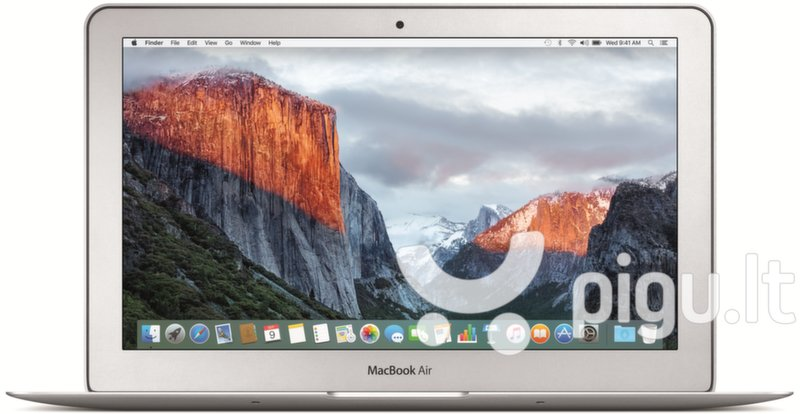 Apple MacBook Air 11 (MJVM2RS/A) EN/RU kaina ir informacija | Nešiojami kompiuteriai | pigu.lt