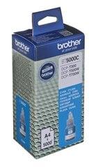 Rašalas Brother BT5000C cyan | 5000pgs | DCPT300/DCPT500W/DCPT700W/MFCT800W kaina ir informacija | Kasetės rašaliniams spausdintuvams | pigu.lt