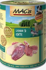 Mac's Dog Lamb & Duck 800 g