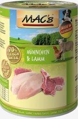 Mac's Chicken & Lamb 400 g