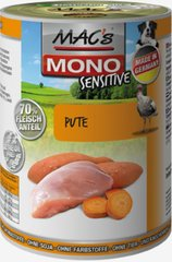 Mac's Mono Sensitive Turkey 400 g