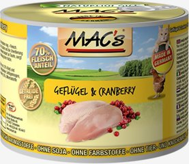 Mac's Poultry & Cranberry 800 g