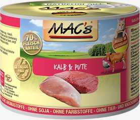 Mac's Veal & Turkey 800 g