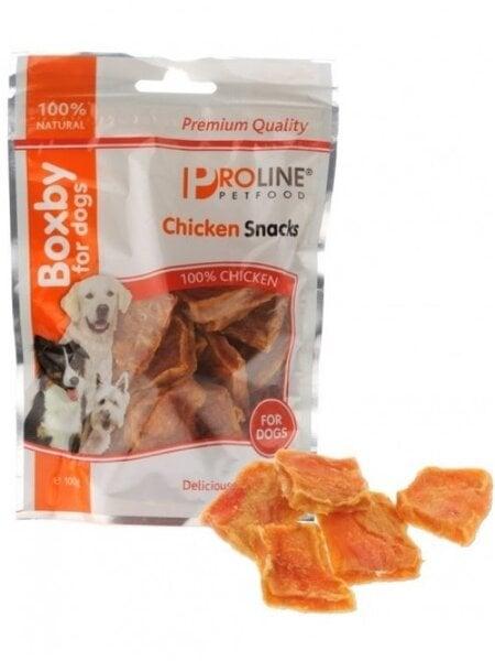 Skanėstai Chicken Snack 100 g kaina ir informacija | Skanėstai šunims | pigu.lt