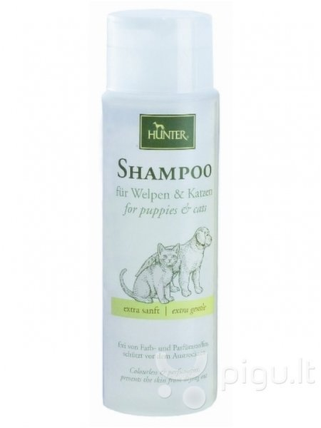 Hunter šampūnas šuniukams, kačiukams ir katėms