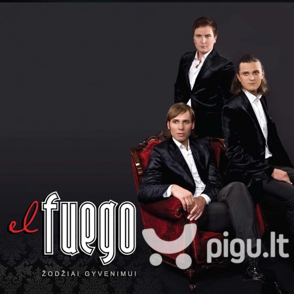 "CD EL FUEGO ""Žodžiai gyvenimui"" kaina ir informacija | Muzikos įrašai | pigu.lt"