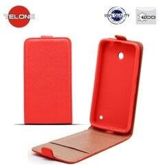 Atverčiamas dėklas Telone Shine Pocket Slim Flip skirtas Samsung Grand Neo (i9080/i9060), Raudonas kaina ir informacija | Telefono dėklai | pigu.lt
