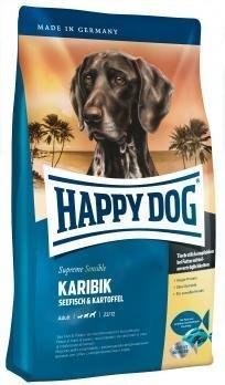 Happy Dog Karibik, 1 kg kaina ir informacija | Sausas maistas šunims | pigu.lt