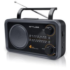 Radio Muse M-05 DS, juoda