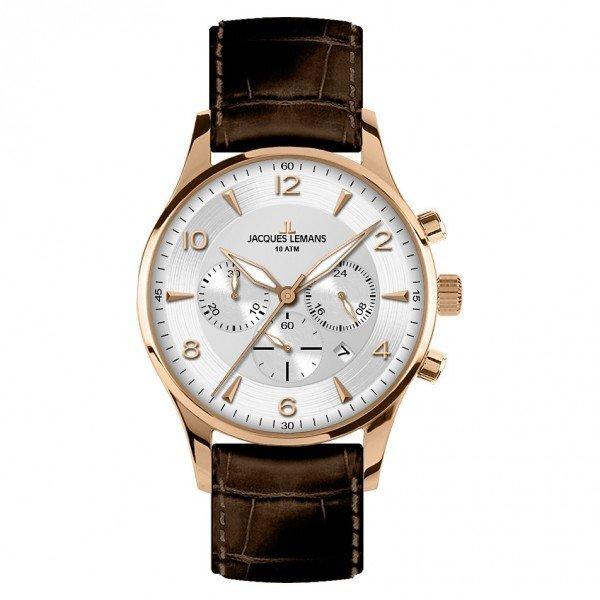 Vyriškas laikrodis Jacques Lemans 1-1654H kaina ir informacija | Vyriški laikrodžiai | pigu.lt