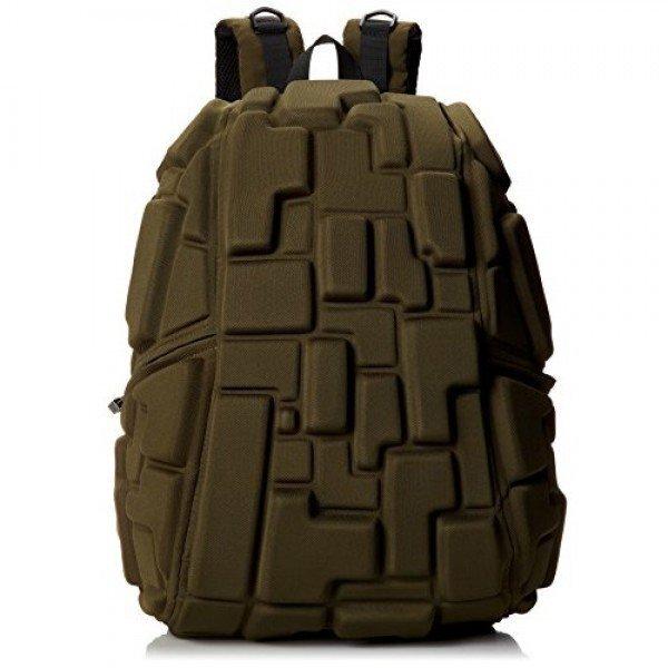 Kuprinė MadPax Blok Half, 36х30х15cm, Green kaina ir informacija | Kuprinės mokyklai, penalai, sportiniai maišeliai | pigu.lt