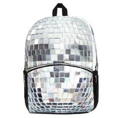 Kuprinė Mojo Disco Scull Silver kaina ir informacija | Kuprinės mokyklai, penalai, sportiniai maišeliai | pigu.lt