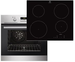 Electrolux EZB3410AOX + Electrolux EHH6240ISK