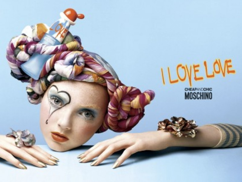 Tualetinis vanduo Moschino Cheap & Chic I Love Love EDT moterims 100 ml internetu