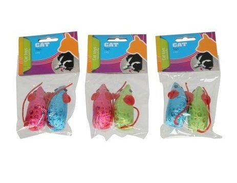 Žaislų rinkinys katėms 2 vnt. kaina ir informacija | Žaislai katėms | pigu.lt