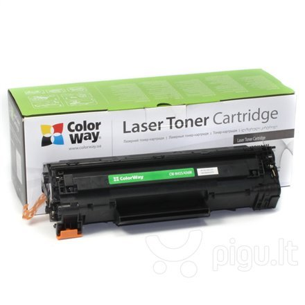 ColorWay toner cartridge (Econom) for HP CB435A/CB436A/CE285A; Canon 712/713/725