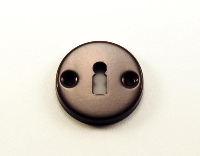 Apyrakčių komplektas paprastam raktui (rudas) kaina ir informacija | Durų rankenos, spynos | pigu.lt