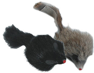 Comfy žaislas katei - pelė Mini, 2 vnt.