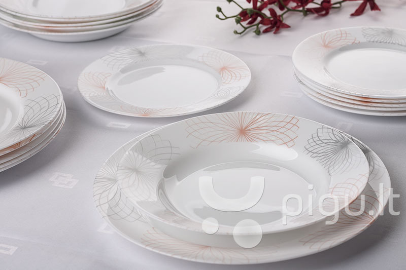Luminarc Divari pietų servizas, 18 dalių kaina ir informacija | Indai, lėkštės, pietų servizai | pigu.lt