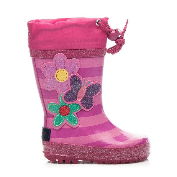 Guminiai batai mergaitėms kaina ir informacija | Avalynė vaikams | pigu.lt