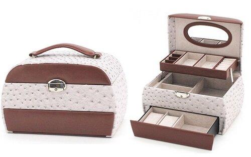 Papuošalų dėžutė kaina ir informacija | Papuošalų dėžutės | pigu.lt
