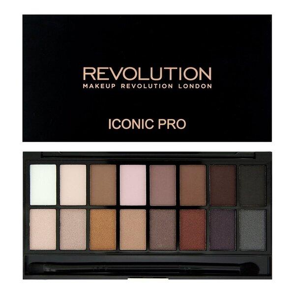 Akių šešėlių paletė Makeup Revolution London Iconic Pro 1 11,5 g kaina ir informacija | Akių šešėliai, pieštukai, blakstienų tušai | pigu.lt