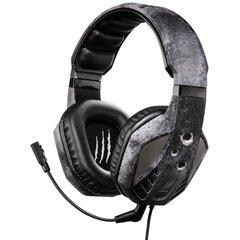 Žaidimams skirtos ausinės HAMA uRage SoundZ Evo. Gaming Headset, Juodos