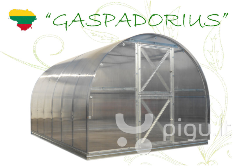 Šiltnamis Gaspadorius 4m x 2,87m kaina ir informacija | Šiltnamiai | pigu.lt
