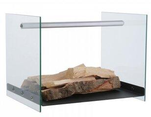Dėklas malkoms, stiklinis kaina ir informacija | Priedai šildymo įrangai | pigu.lt