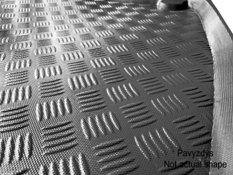 Bagažinės kilimėlis Kia Venga 2009-> (viršut.bagaž) /34012