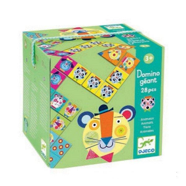 Žaidimas domino su gyvūnėliais DJECO 8104 kaina ir informacija | Lavinamieji žaislai | pigu.lt