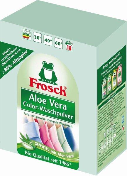 Frosch skalbimo milteliai spalvotiems drabužiams 1350 g   kaina ir informacija | Skalbimo priemonės | pigu.lt