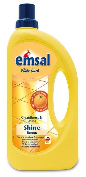 Emsal emalė grindų poliravimui 1000 ml kaina ir informacija | Valikliai | pigu.lt