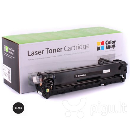 ColorWay toner cartridge for HP CF210A (131A); Canon 731BK